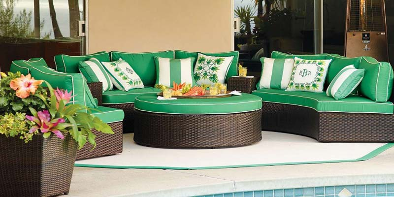 Balinese outdoor furniture